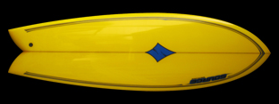 Source Surfboards - Keel Fin Fish